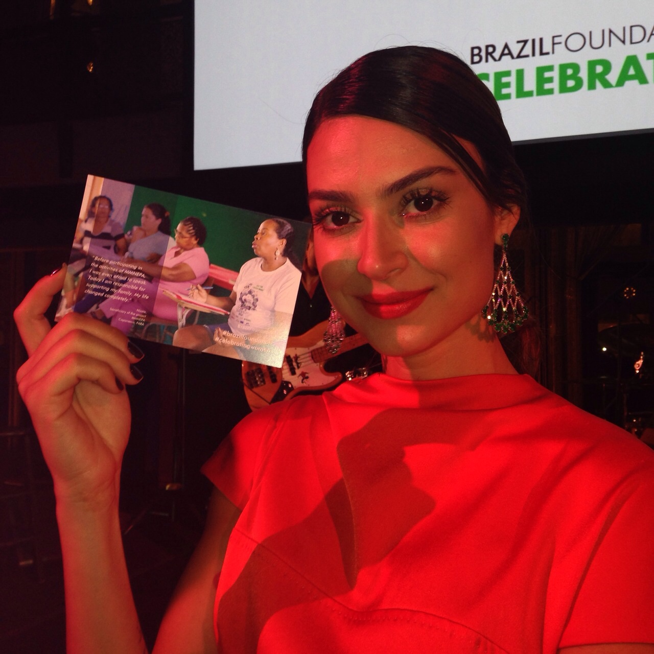 BrazilFoundation Gala New York Thaila Ayala