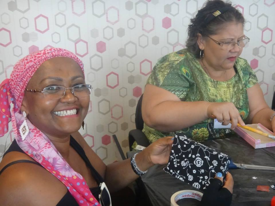 Instituto Arte de Viver Bem, apoiado pela BrazilFoundation Women for Women Project