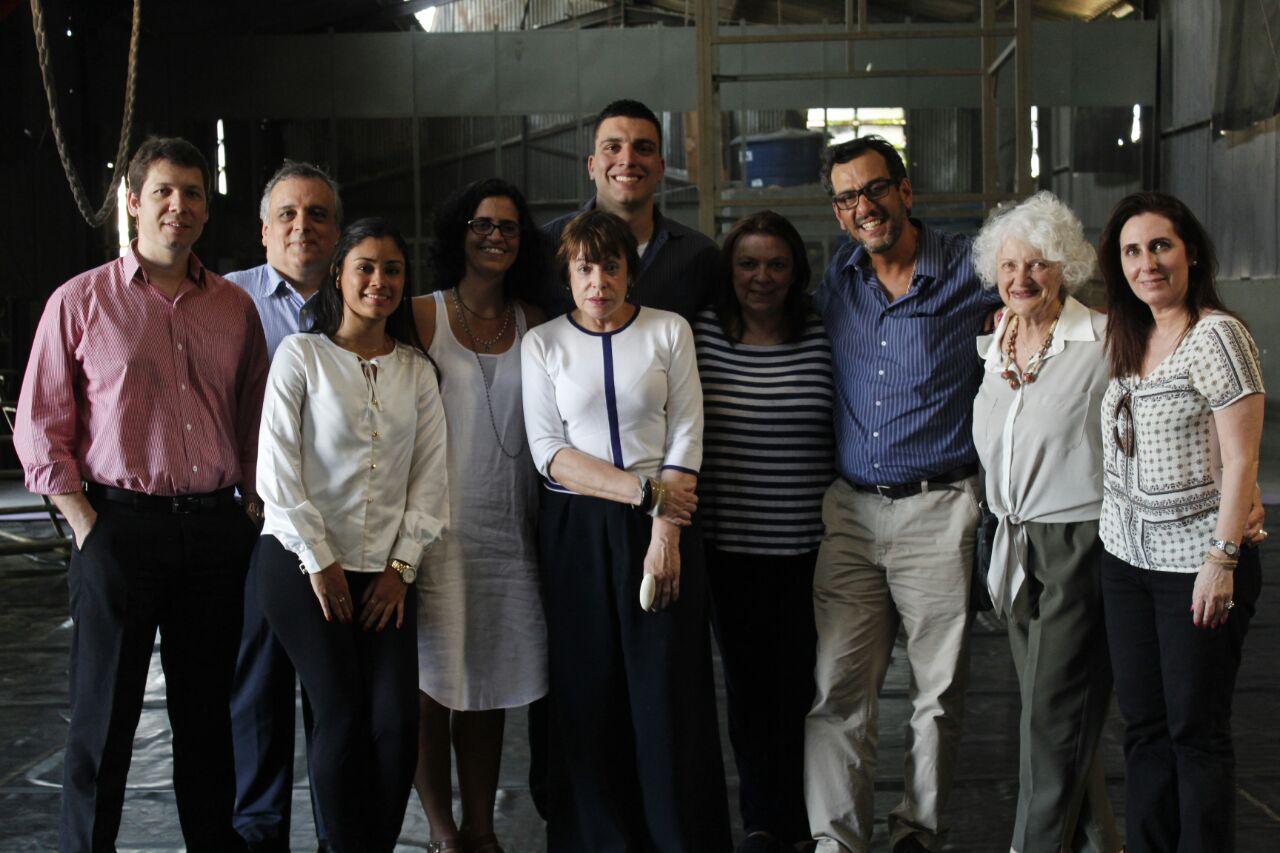 Equipe Tyco, Brazil Foundation e Galpão Aplauso e palestrantes.