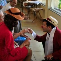 Pranay Fund BrazilFoundation TEATRO DO SOPRO Rio de Janeiro Palhaços Idosos Ajuda ONG