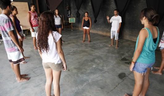 BrazilFoundation SÓCIO-CULTURAL CÓDIGO Japeri Rio de Janeiro Teatro ONG Theather