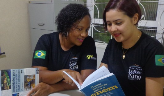 BrazilFoundation Instituto Luther King ILK Campo Grande Curso pré vestibular ENEM ONG
