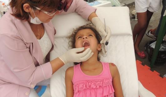 BrazilFoundation ONG SOS DENTAL Rio de Janeiro Saude Bucal Complexo do Alemão Dentist Children