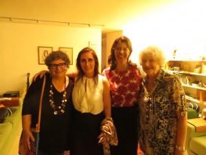 Cora Ronai, Maria Cecilia Oswaldo Cruz, Gisele Birman e Leona Forman