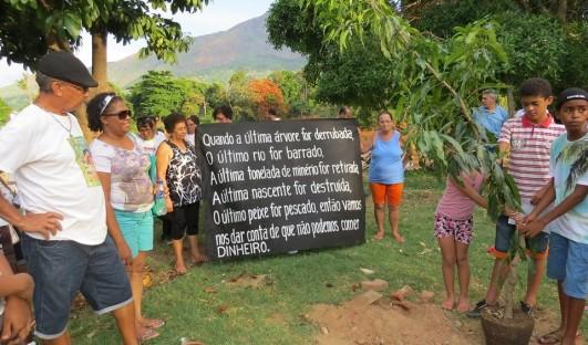 BrazilFoundation Fundo Minas CÁRITAS DIOCESANA DE GOVERNADOR VALADARES Fiscalização Denúncia Rio Doce Projeto Social Social Project ONG