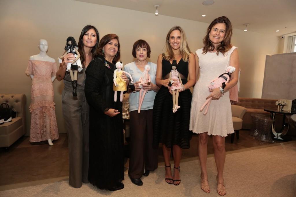 Anna Biondo, Martha Medeiros, Monica de Roure, Fernanda Vidigal, Cristina Brulay