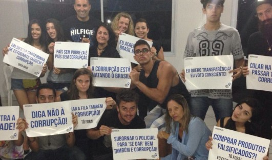 Ação Jovem Brasil BrazilFoundation Team Rio Projeto Social ONG Rio de Janeiro Formação cidadã e política