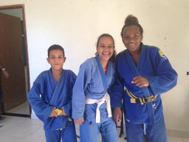 Projeto de Jiu Jitsu Lutando Como Davi