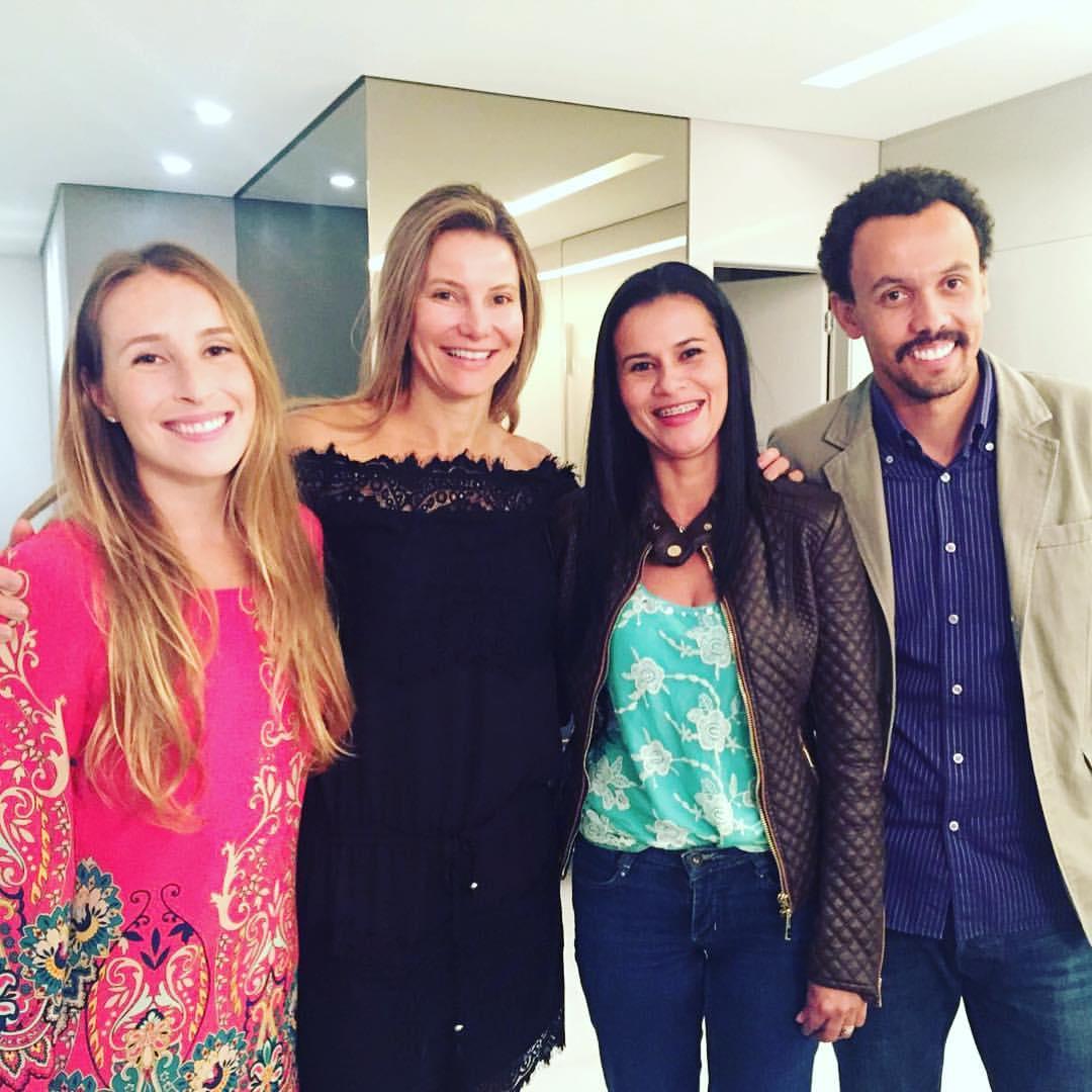 Belo Horizonte Palestra BrazilFoundation Mãos a Obra, Rejane de Paula, AHOBERO, Fa.vela,