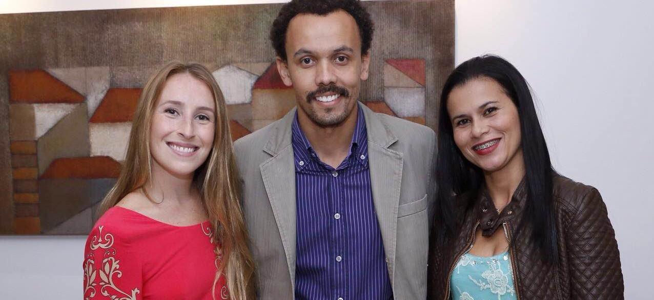Belo Horizonte Palestra BrazilFoundation, Stephanie Robbe (Mãos a Obra), João Souza (Fa.Vela), Keyla Vardele (AHOBERO)