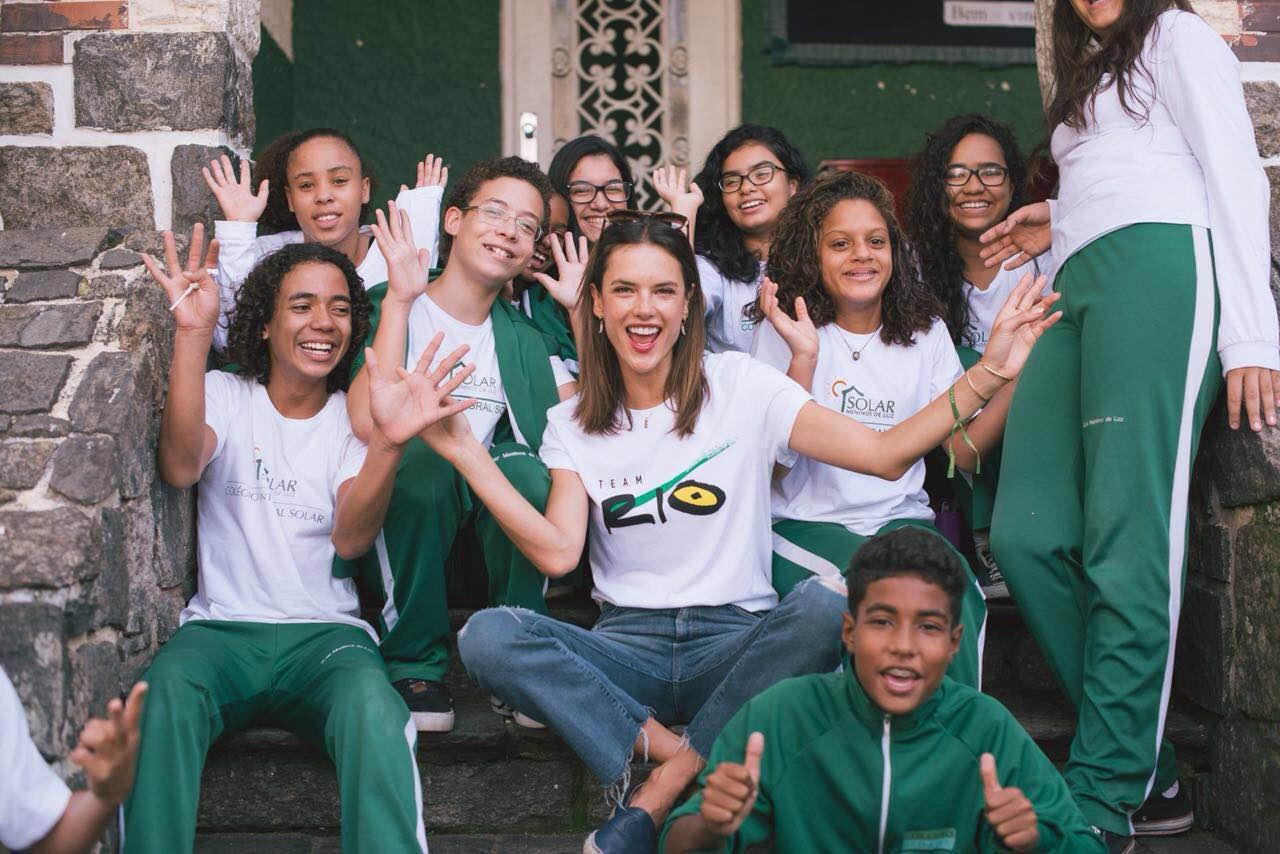 BrazilFoundation TeamRio Alessandra Ambrosio