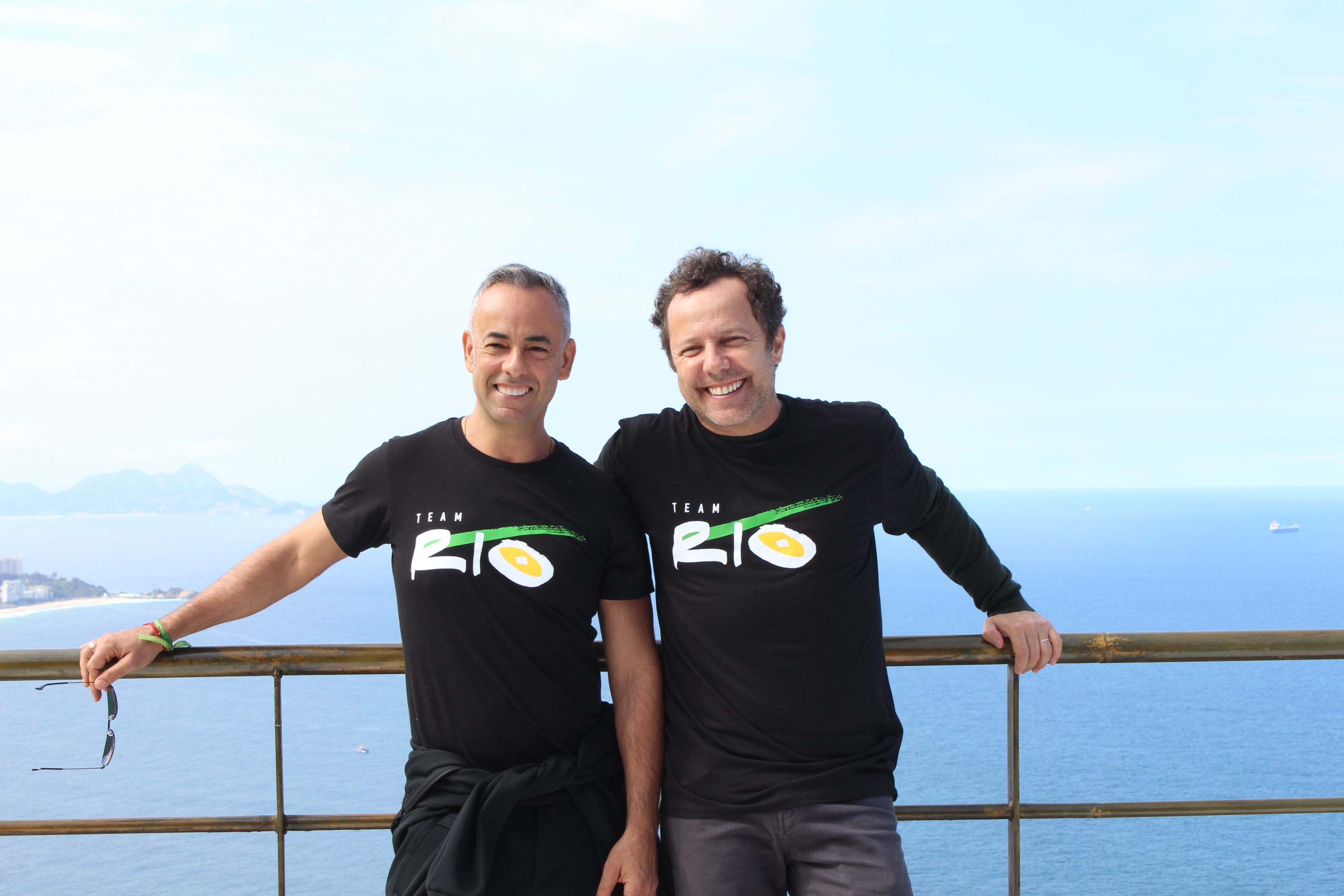 BrazilFoundation TeamRio Francisco Costa e Vik Muniz