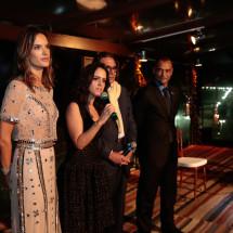 BrazilFoundation TeamRio Benefit Dinner Alessandra Ambrosio, Paula Bezerra de Mello, Rogerio Fasano e Cafu
