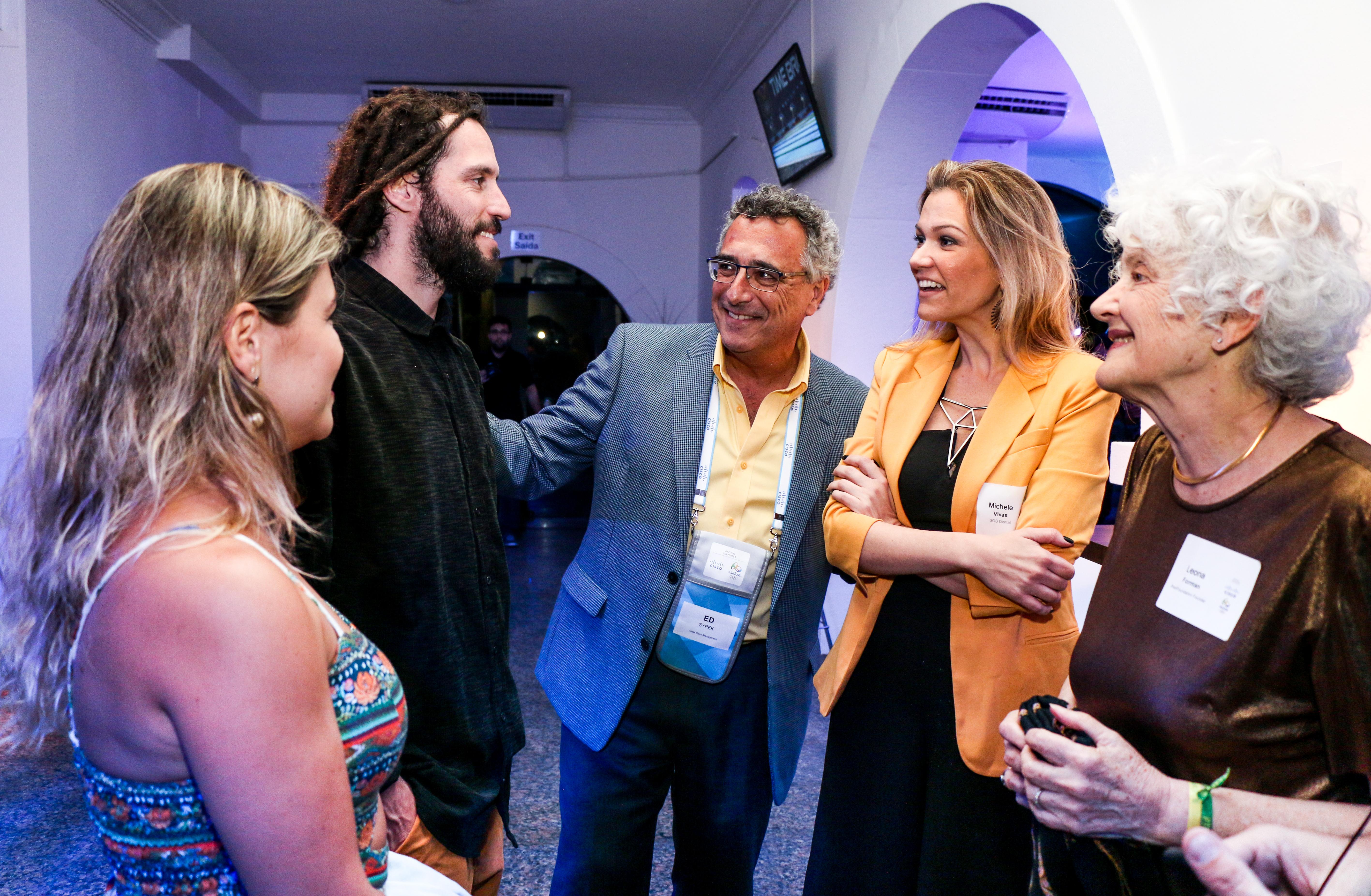 BrazilFoundation Casa Cisco Apoiadores e Leona Forman