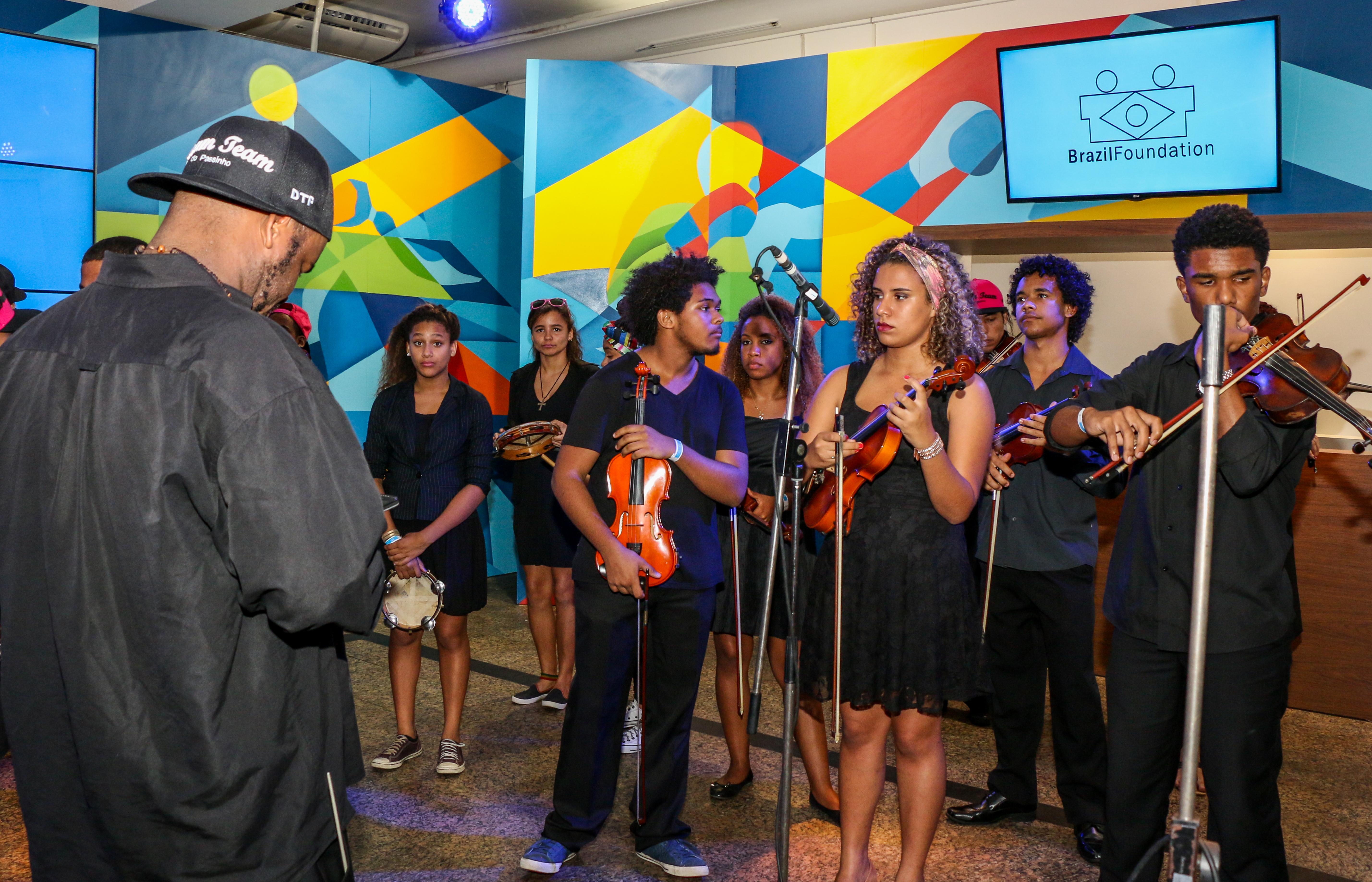 BrazilFoundation Casa Cisco Orquestra de Cordas da Grota