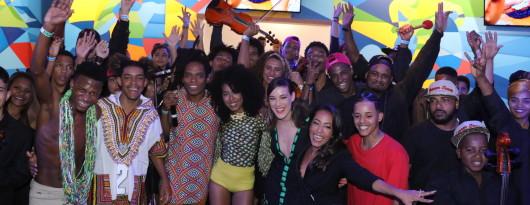 BrazilFoundation Casa Cisco Dream Team do Passinho, Adriana Birolli, Samantha Schmutz, Orquestra Cordas da Grota