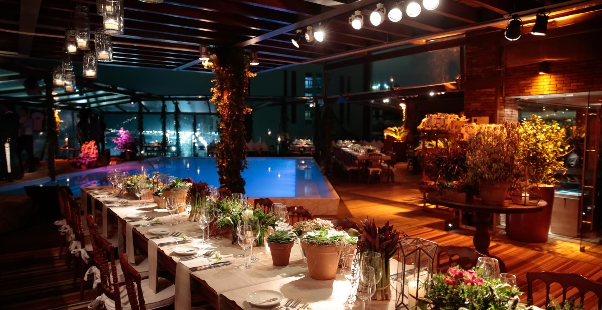 TeamRio Benefit Dinner Fasano Hotel Rooftop