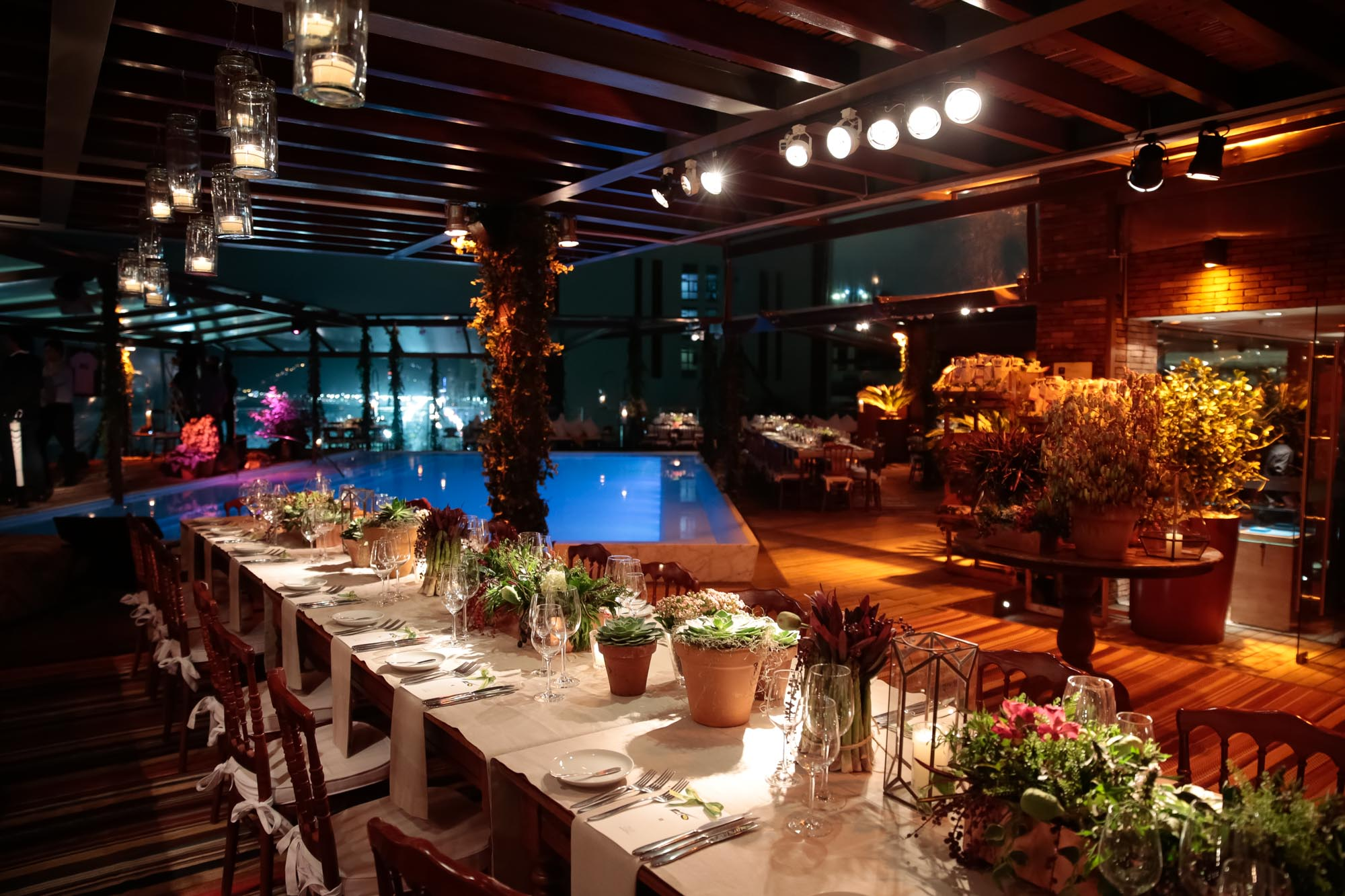 TeamRio Benefit Dinner Hotel Fasano Rooftop