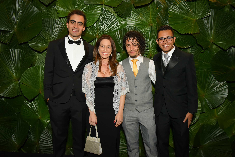 III BrazilFoundation Gala São Paulo VITOR BELOTA,FABIANA GUTIERREZ,TONY MARLON E CESAR GOUVEIA