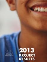 capa resultados projetos 2013 EN