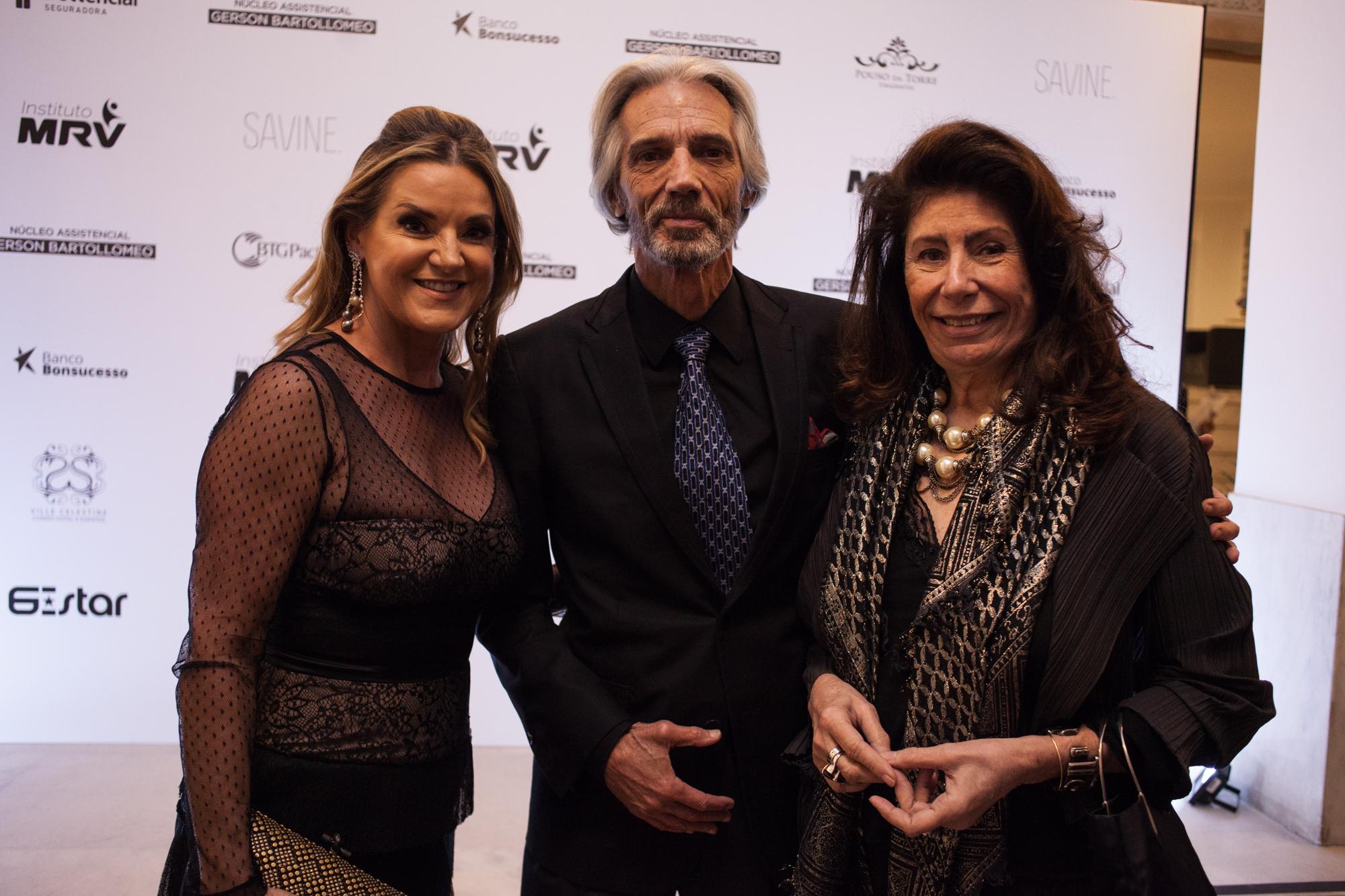 Virginia Bartolomeo, Pedro Aguinaga e Ana Maria Tornaghi BrazilFoundation Belo Horizonte Minas Gerais