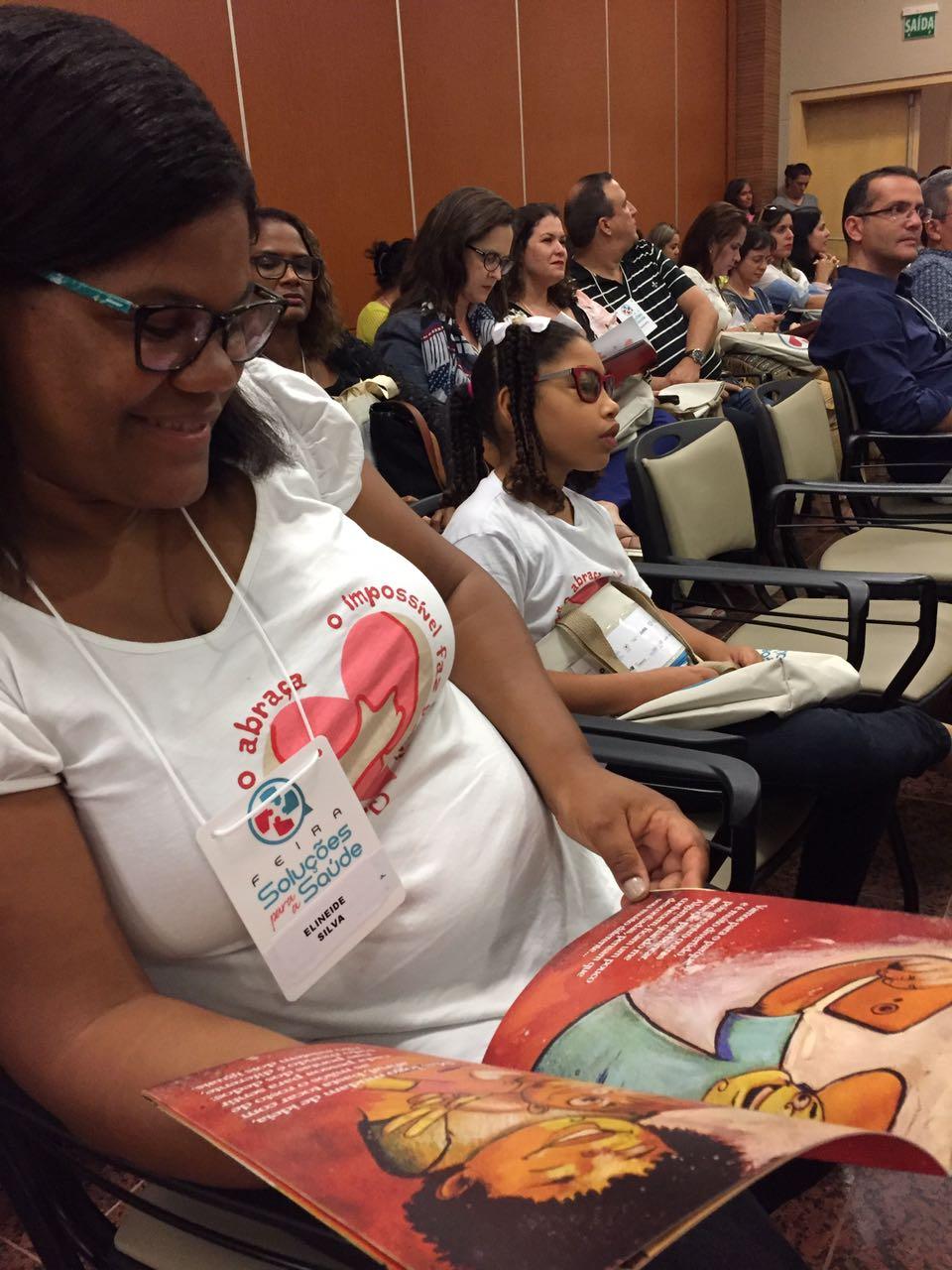 Abraço a Microcefalia lançamento de livro Salvador Bahia microcephaly BrazilFoundation
