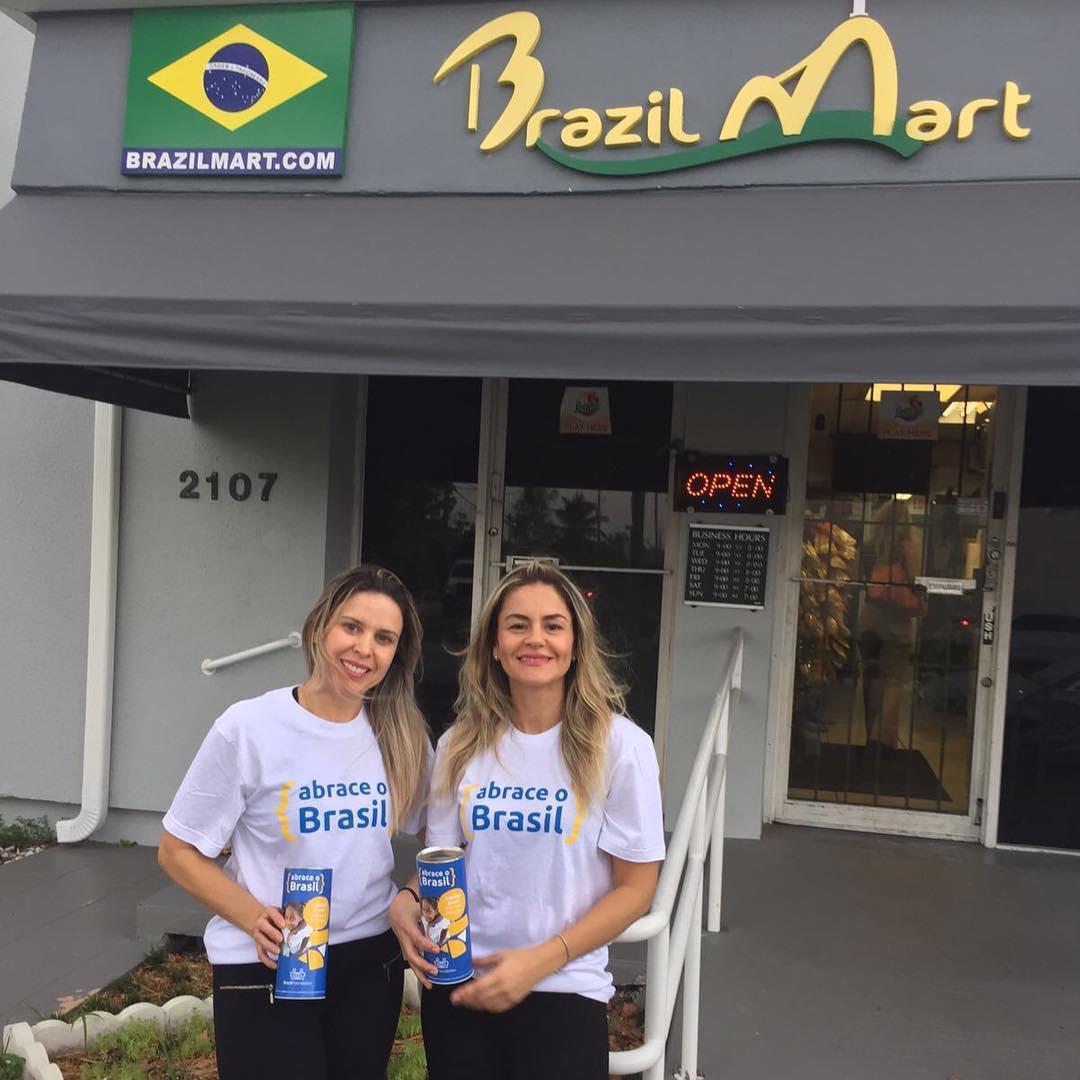Abrace o Brasil BrazilFoundation Brazil Mart Miami