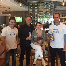 Abrace o Brasil BrazilFoundation Coco Bambu, Miami