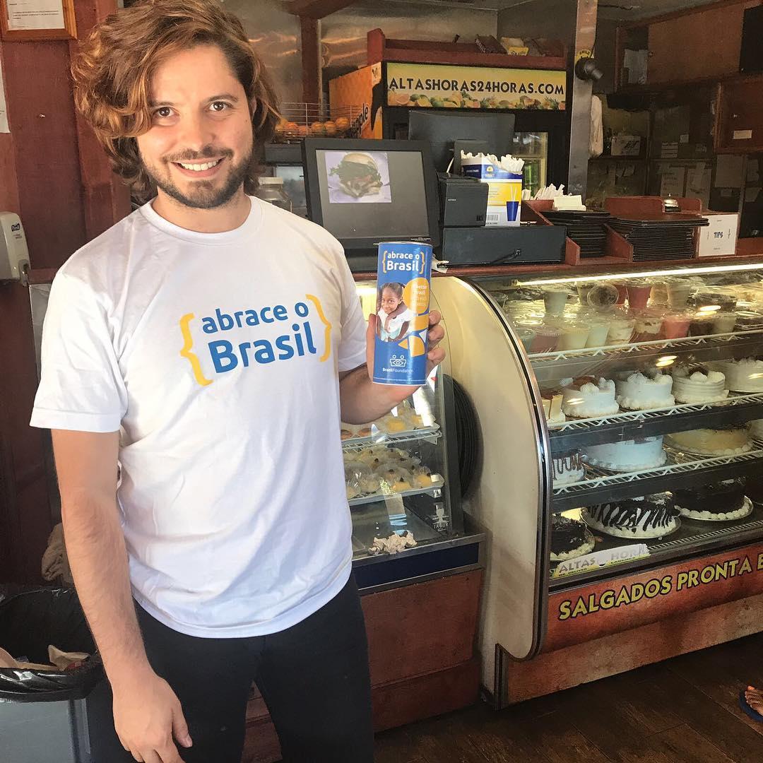 Abrace o Brasil BrazilFoundation Altas Horas Lanches Newark New Jersey