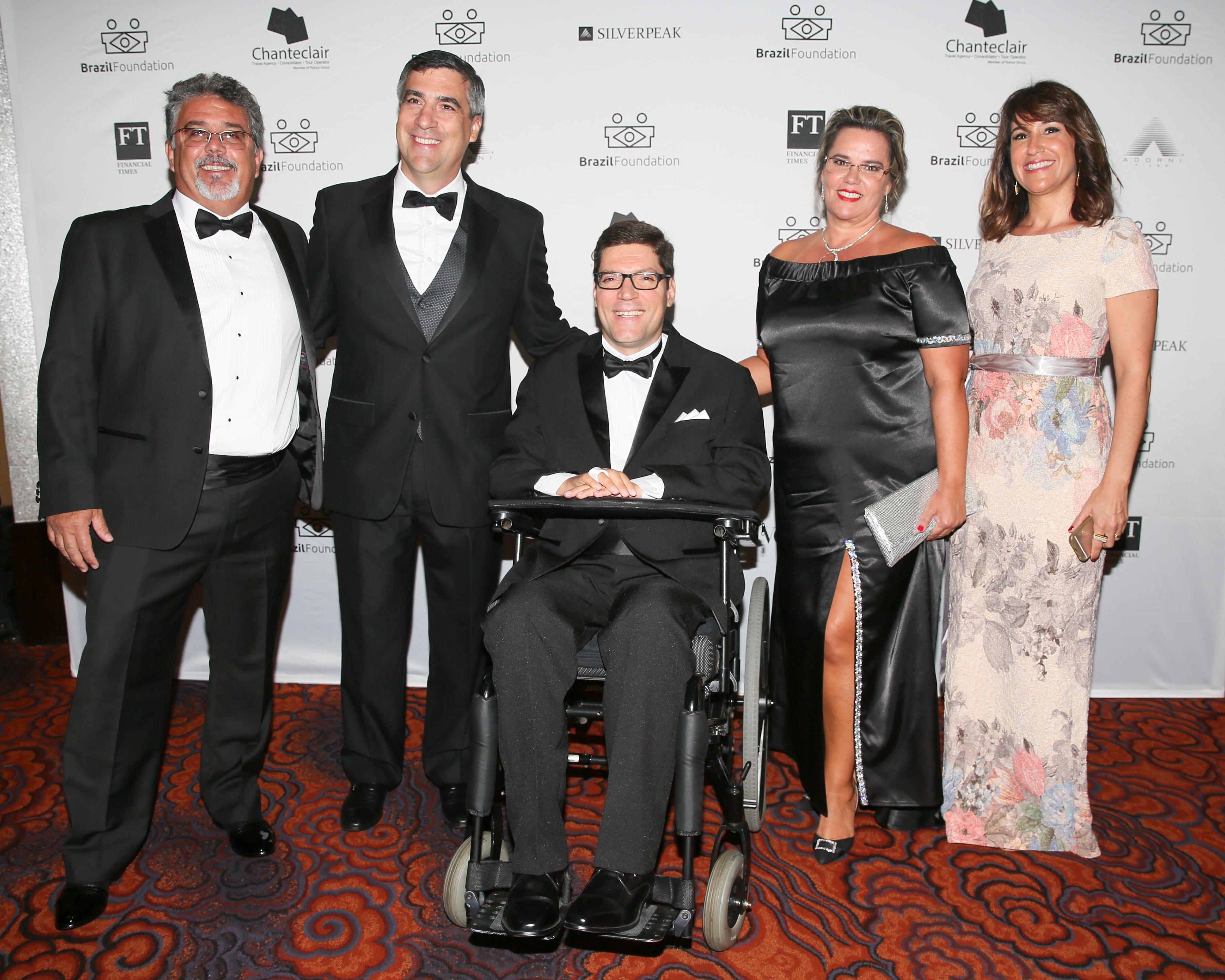 XV BrazilFoundation Gala New York Andre Hubner Rodrigo Hübner Mendes