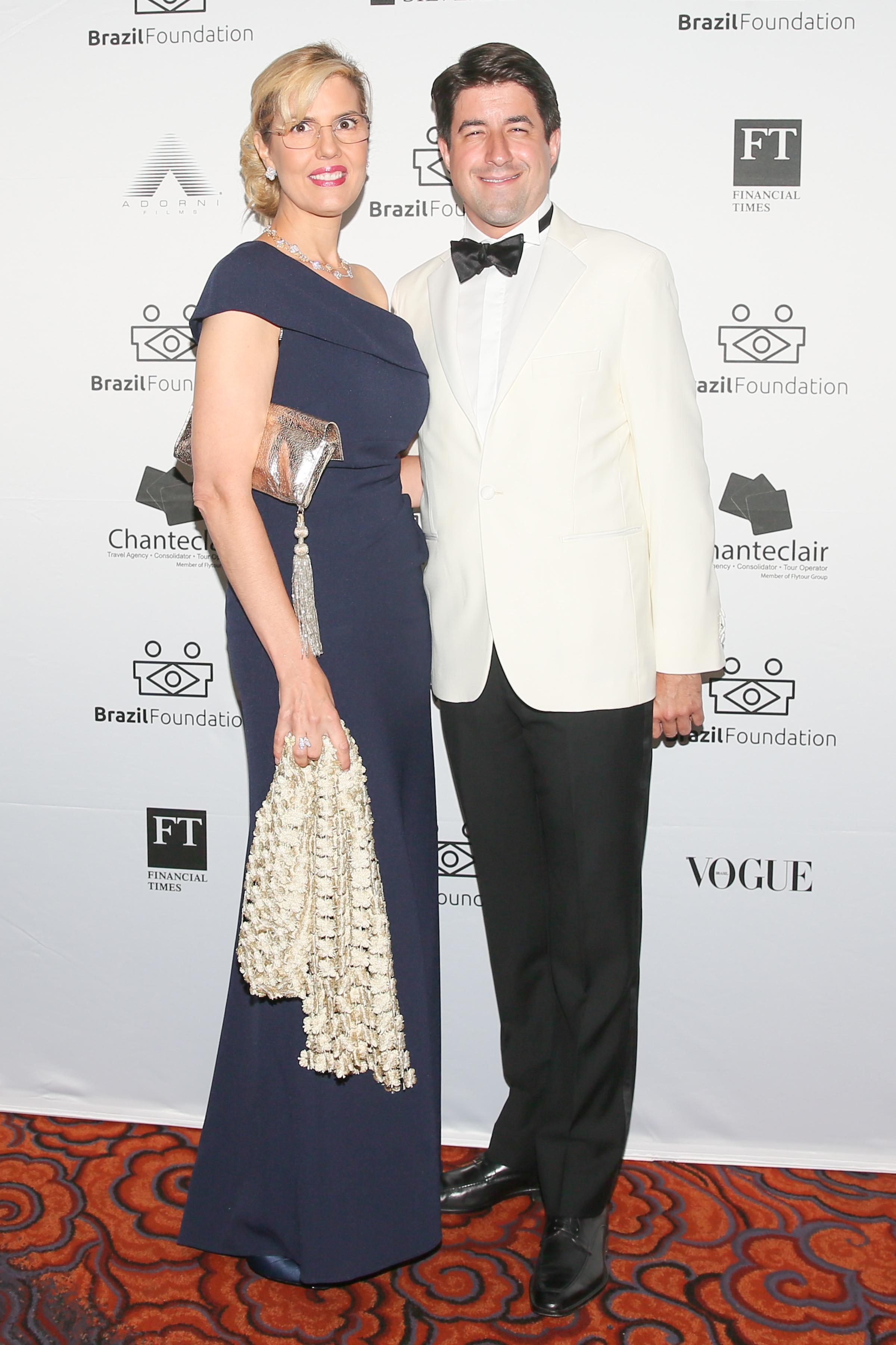 XV BrazilFoundation Gala New York Catherine Bove, Nicholas Gennis