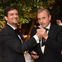 IV BrazilFoundation Gala São Paulo Bruno Astuto e Jean Charles de Castelbajac