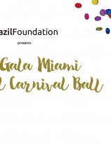 VII BrazilFoundation Gala Miami Tropical Carnival Ball