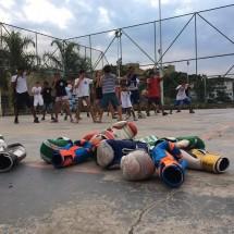 Abraço campeão Pranay Fund Beira BrazilFoundation Rio de Janeiro Complexo do Alemão Crianças Kids Boxe Boxing