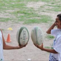 UmRio Vivo a Beira BrazilFoundation Rio de Janeiro Esporte Sports Rugby Jovens Youth