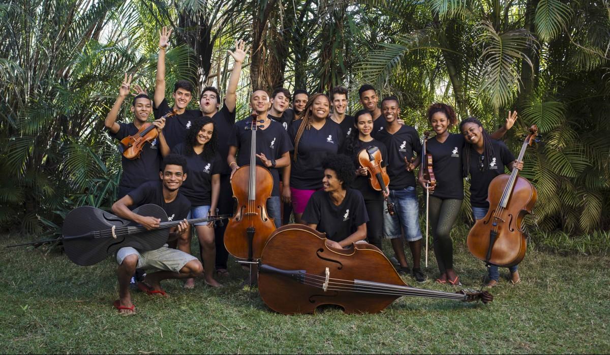 Camerata Laranjeiras Vivo a Beira BrazilFoundation Rio de Janeiro Music Musica Jovens Youth