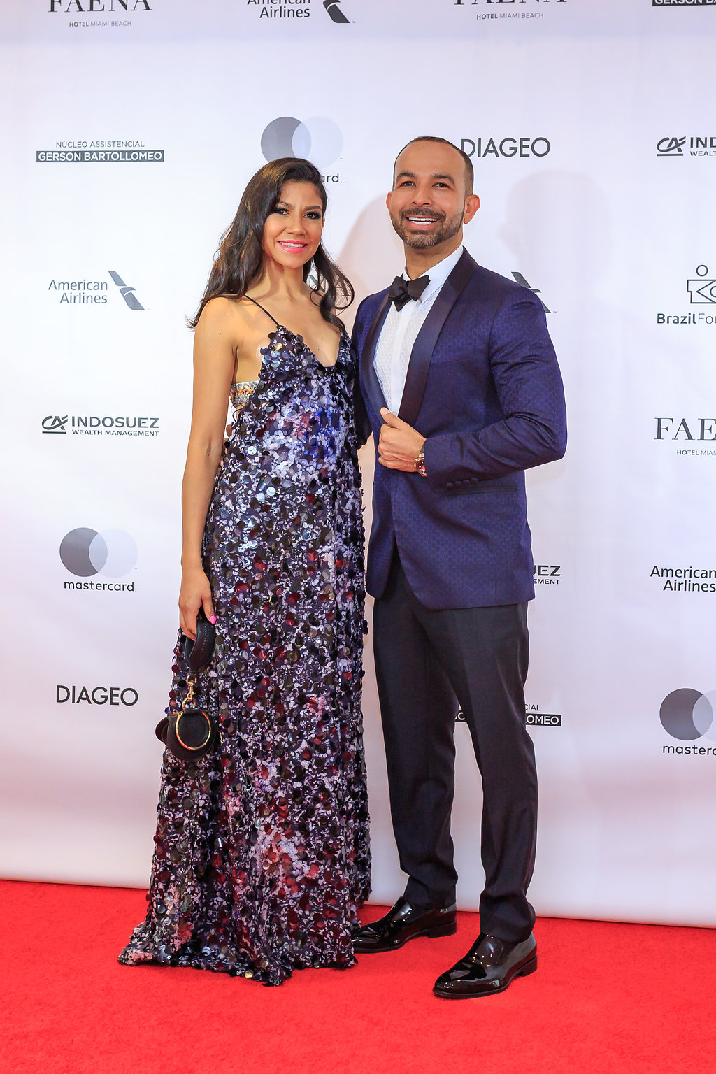 Salvatore Ferragamo BrazilFoundation VII Gala Miami Tropical Carnival Ball Florida Philanthropy Filantropia