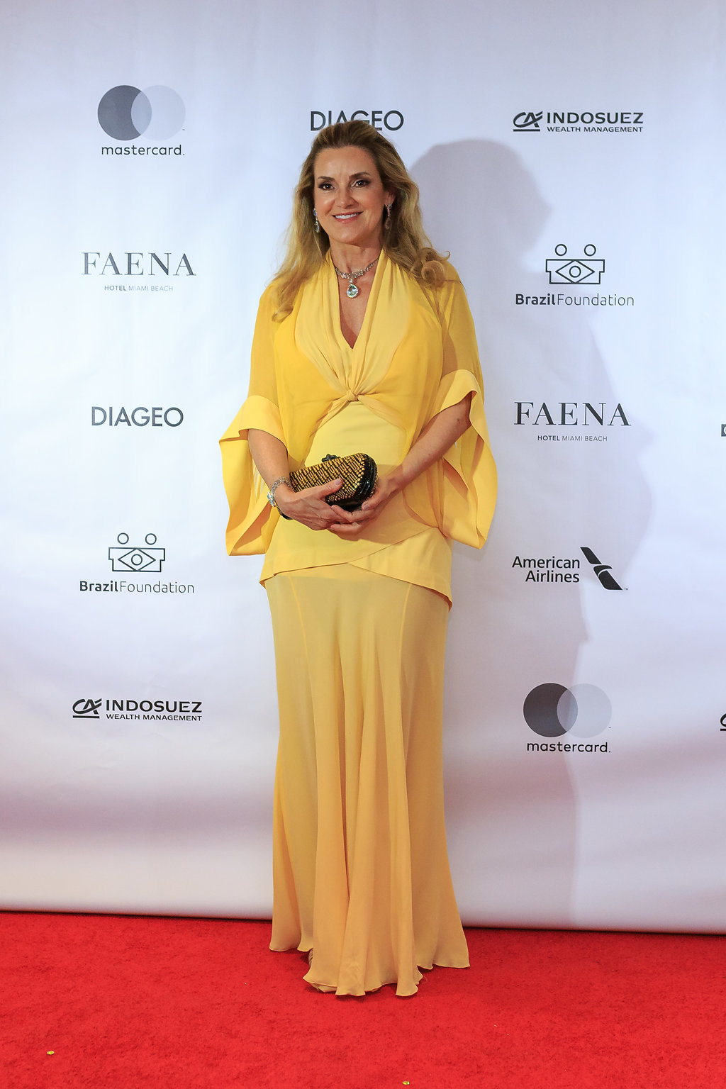 Virginia Bartolomeo BrazilFoundation VII Gala Miami Tropical Carnival Ball Philanthropy Filantropia