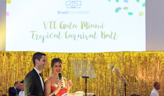 Chris Ayrosa Design BrazilFoundation VII Gala Miami Tropical Carnival Ball Florida Philanthropy Filantropia