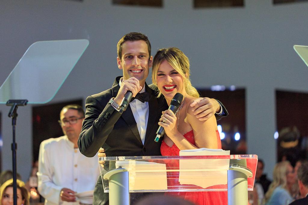 Pedro Andrade & Giowana Ewbank BrazilFoundation VII Gala Miami Tropical Carnival Ball Philanthropy Filantropia