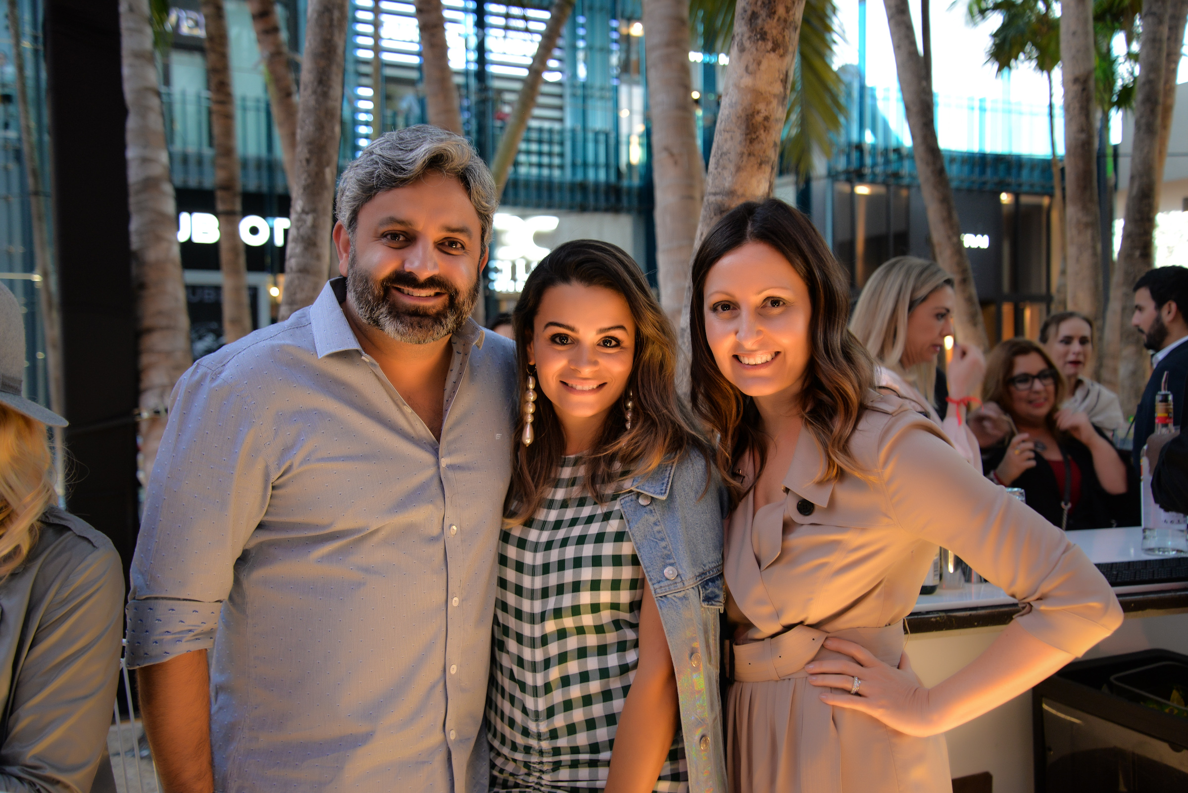 Paulo and Carol Tavares de Melo BrazilFoundation Miami PreGala Cocktail Reception 2018 Miami Design District Philanthropy