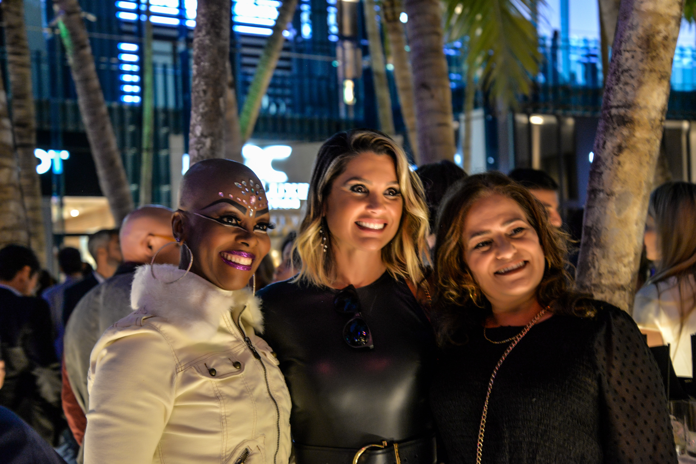Flavia Alessandra BrazilFoundation Miami PreGala Cocktail Reception 2018 Miami Design District Philanthropy Florida