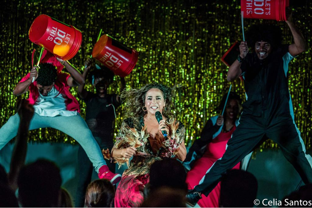 Daniela Mercury & Quabales BrazilFoundation VII Gala Miami Tropical Carnival Ball Florida Philanthropy Filantropia