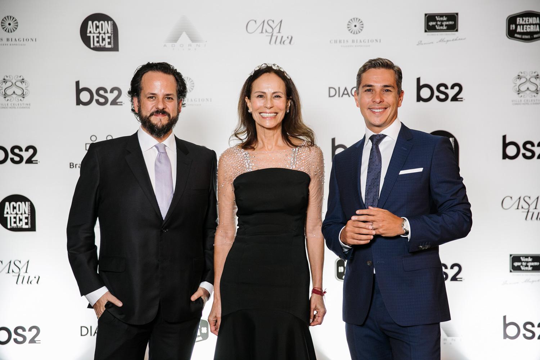Fábio Zukerman, Andrea Dellal, Ivan Moré, Leilão BrazilFoundation Gala Minas Gerais