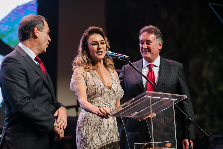 Chairs Lilian e Mauro Tunes, Paulo Pentangna BS2, Patrocinador Platinum BrazilFoundation Gala Minas Gerais 2018