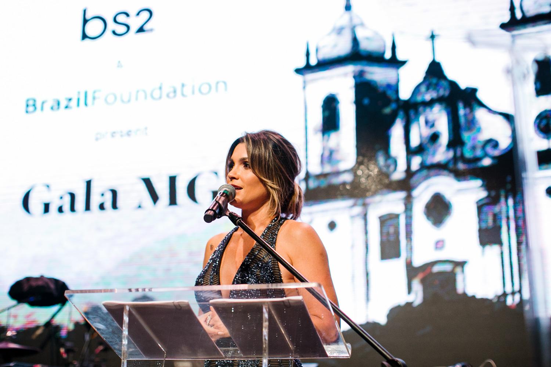 MC, Embaixadora da BrazilFoundation, Flávia Alessandra BrazilFoundation Gala Minas Gerais 2018