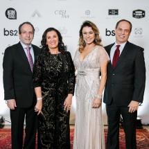Edson Bacci, Denise Magalhaes, Lilian e Mauro Tunes por Barbara Dutra BrazilFoundation Gala Minas Gerais 2018