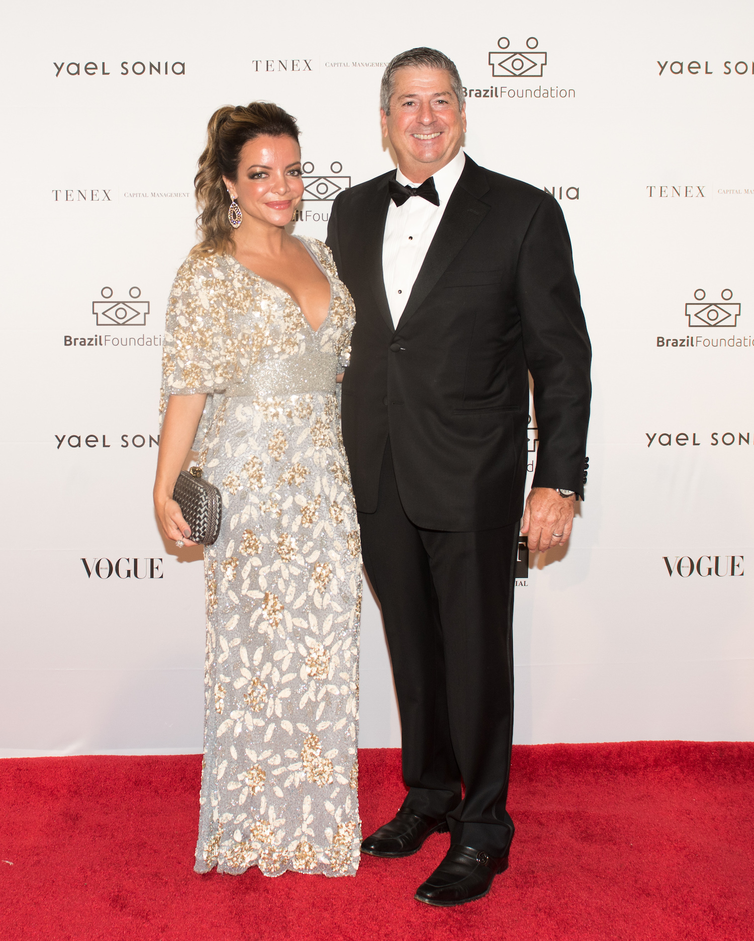 Gabriela and Michael Green BrazilFoundation XVI Gala New York Celebrating the Amazon Plaza