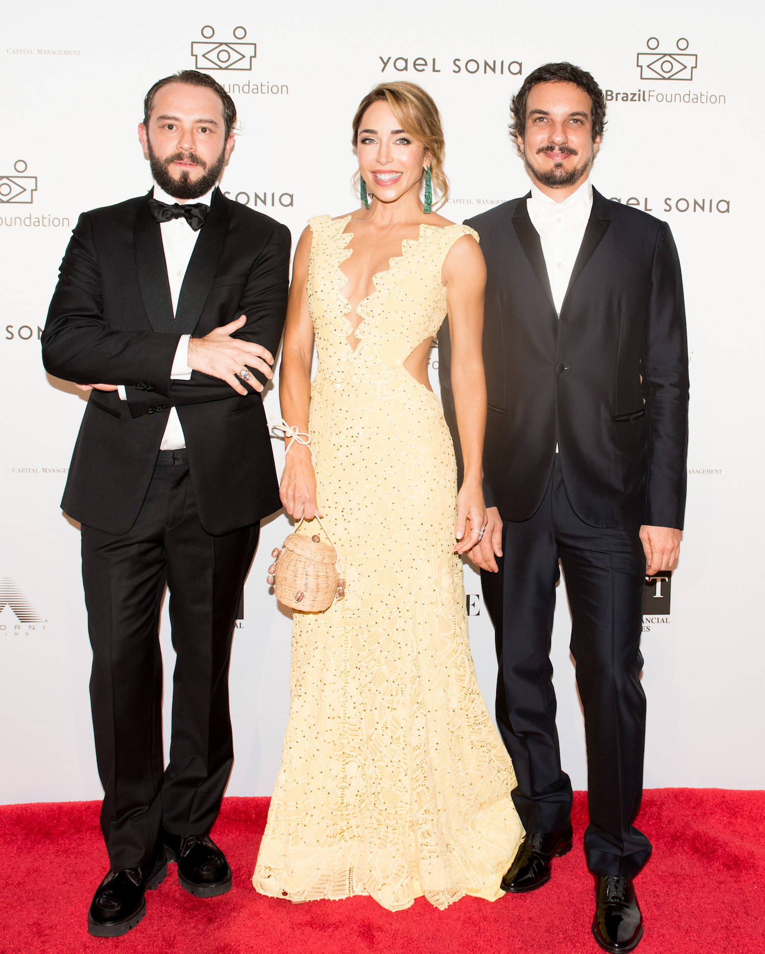 Jeff Ares, Katia Francesconi, Thiago Cavalli Azambuja BrazilFoundation XVI Gala New York Celebrating the Amazon Plaza