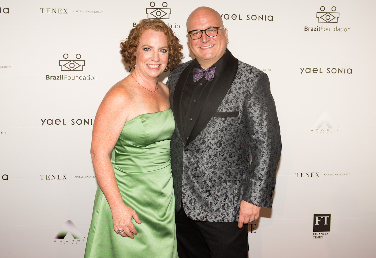 Alyson & Will Landers BrazilFoundation XVI Gala New York Celebrating the Amazon Plaza